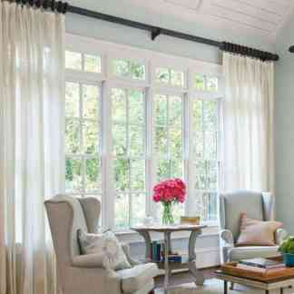 Long curtain rods