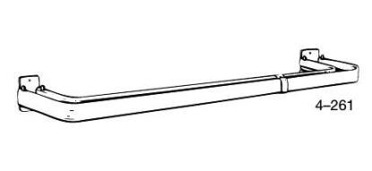 Double Lock–Seam Curtain Rods