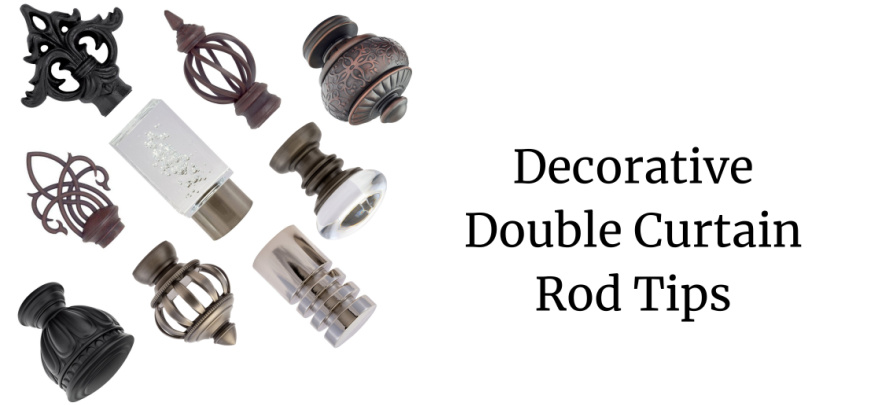 tips for buying a double curtain rod