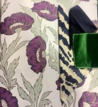 Color Pairings: Green and Navy Blue