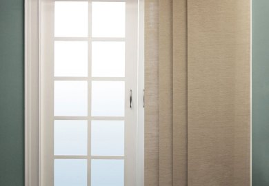 Solid Door Panel Curtains