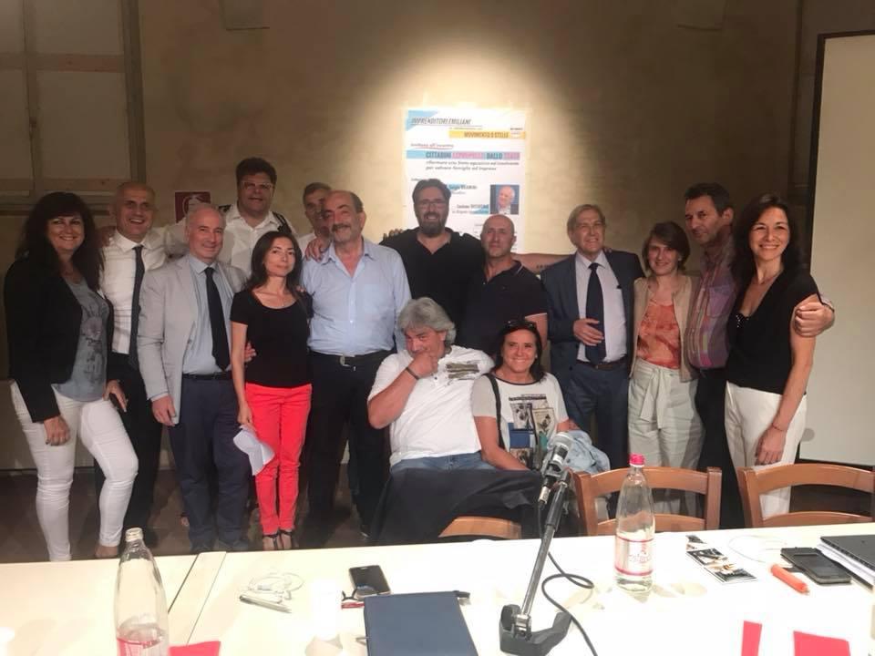 Ieri sera TUTTI INSIEME a ReggioEmilia #maipùsoli