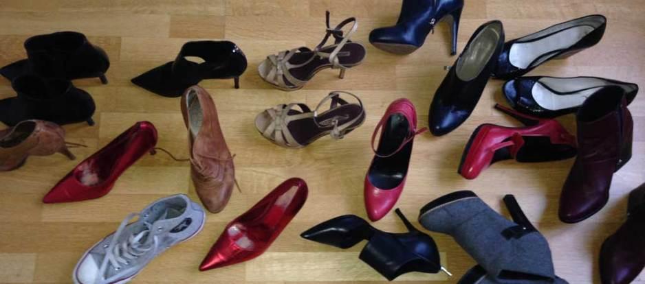 Kerstins Schuhe