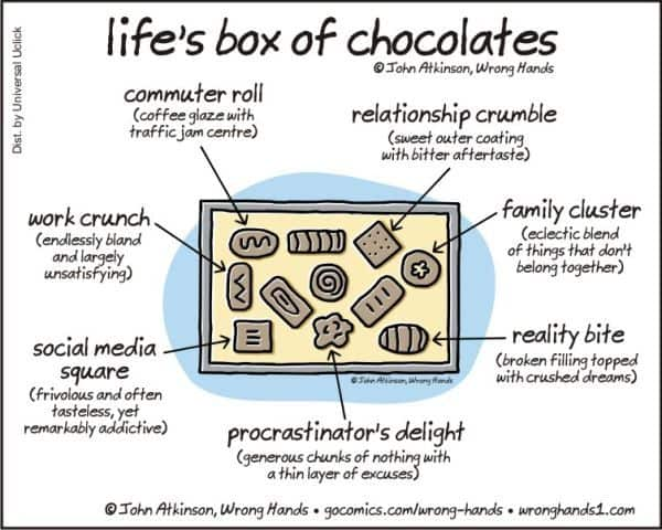 Life Is Like A Box Of Chocolates Dravens Tales From The