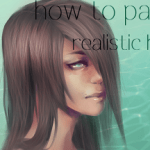 How To Paint Realistic Hair