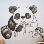 How To Draw A Panda Bear – Video