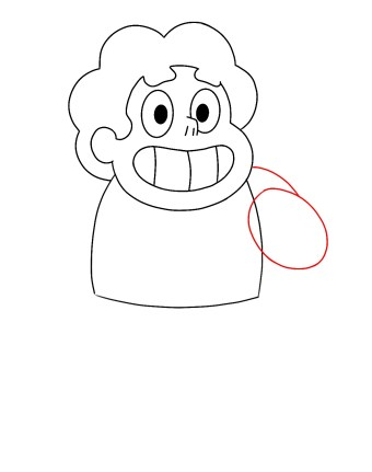 How To Draw Steven Universe Step 5