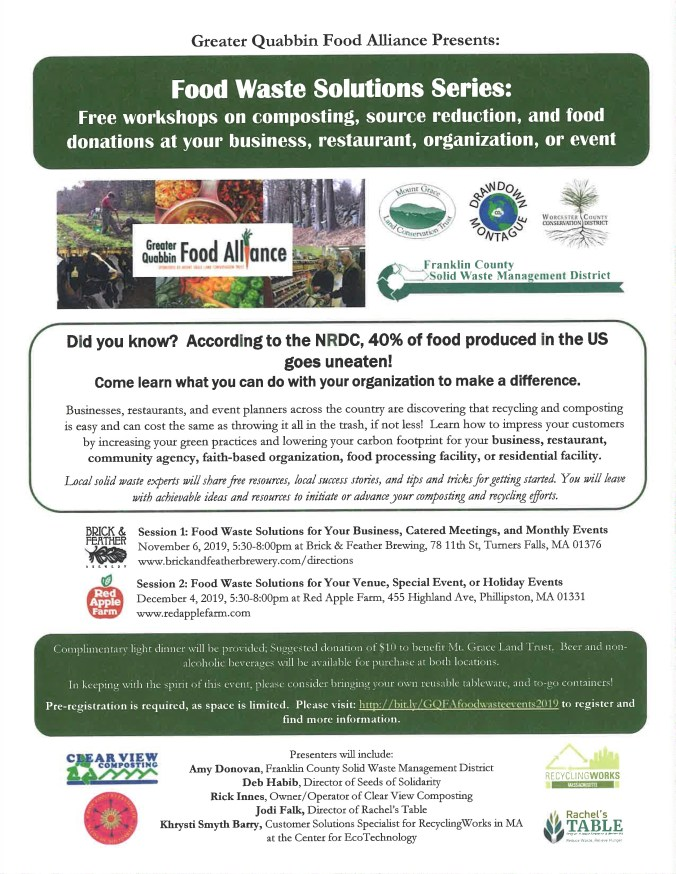Food Waste Solutions Flyer