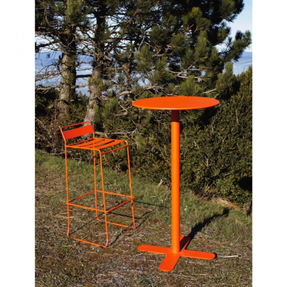 Table haute de jardin design San Mateo D60 par Drawerfr