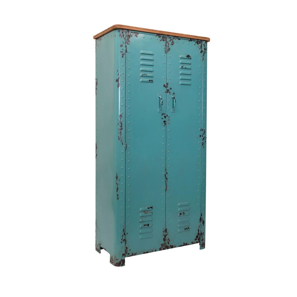 armoire casier en metal dutchbone rusty