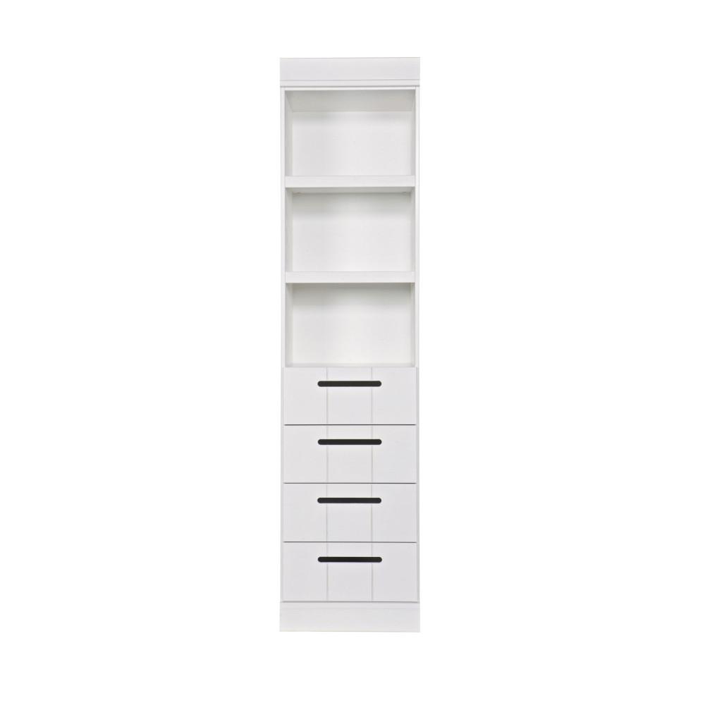 connect colonne de rangement 3 niches 4 tiroirs