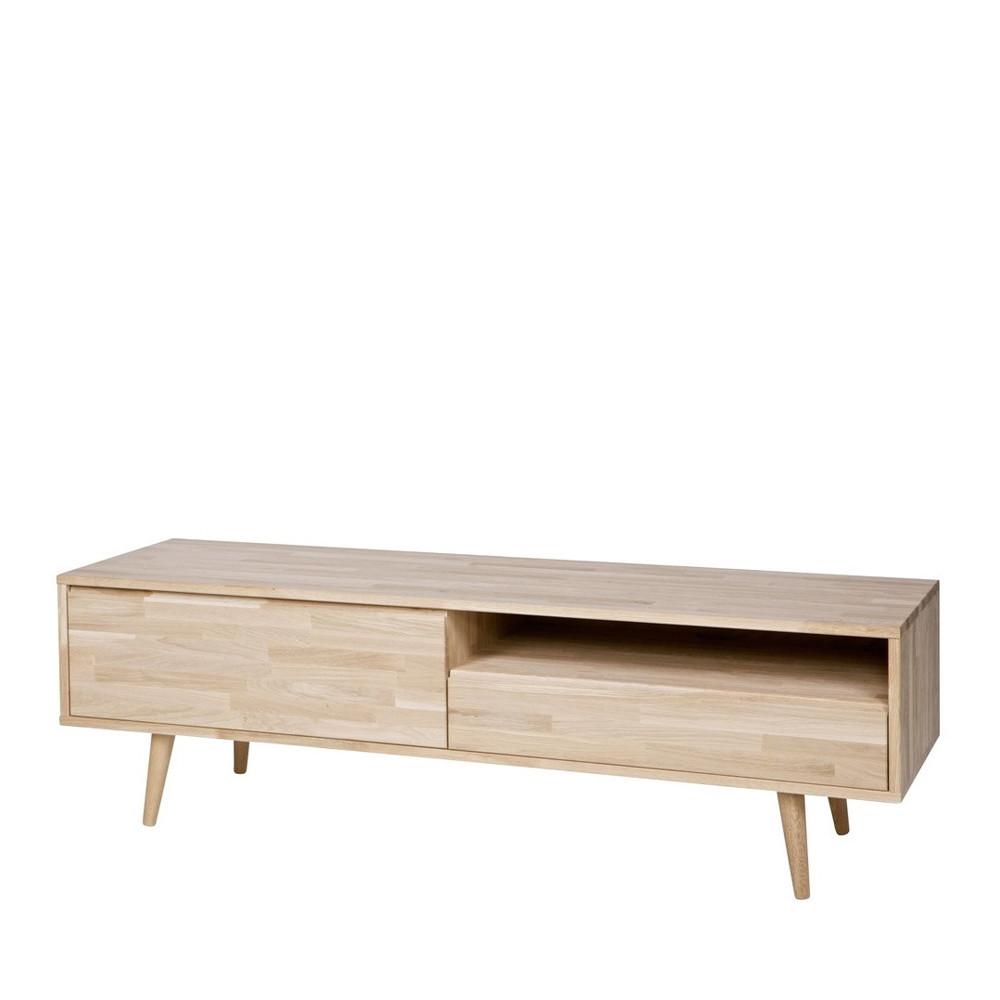 meuble tv scandinave chene massif woood tygo