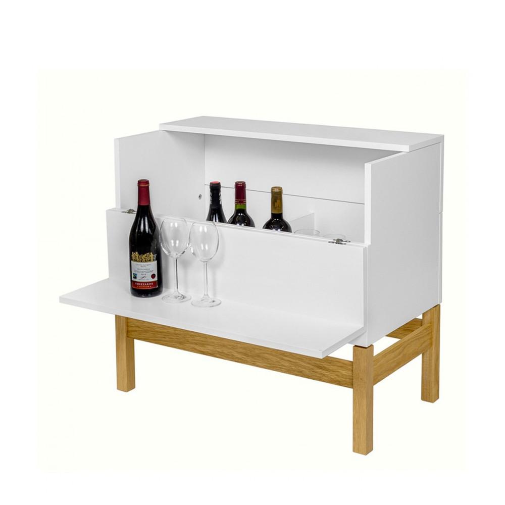 mini bar design scandinave woodman grande