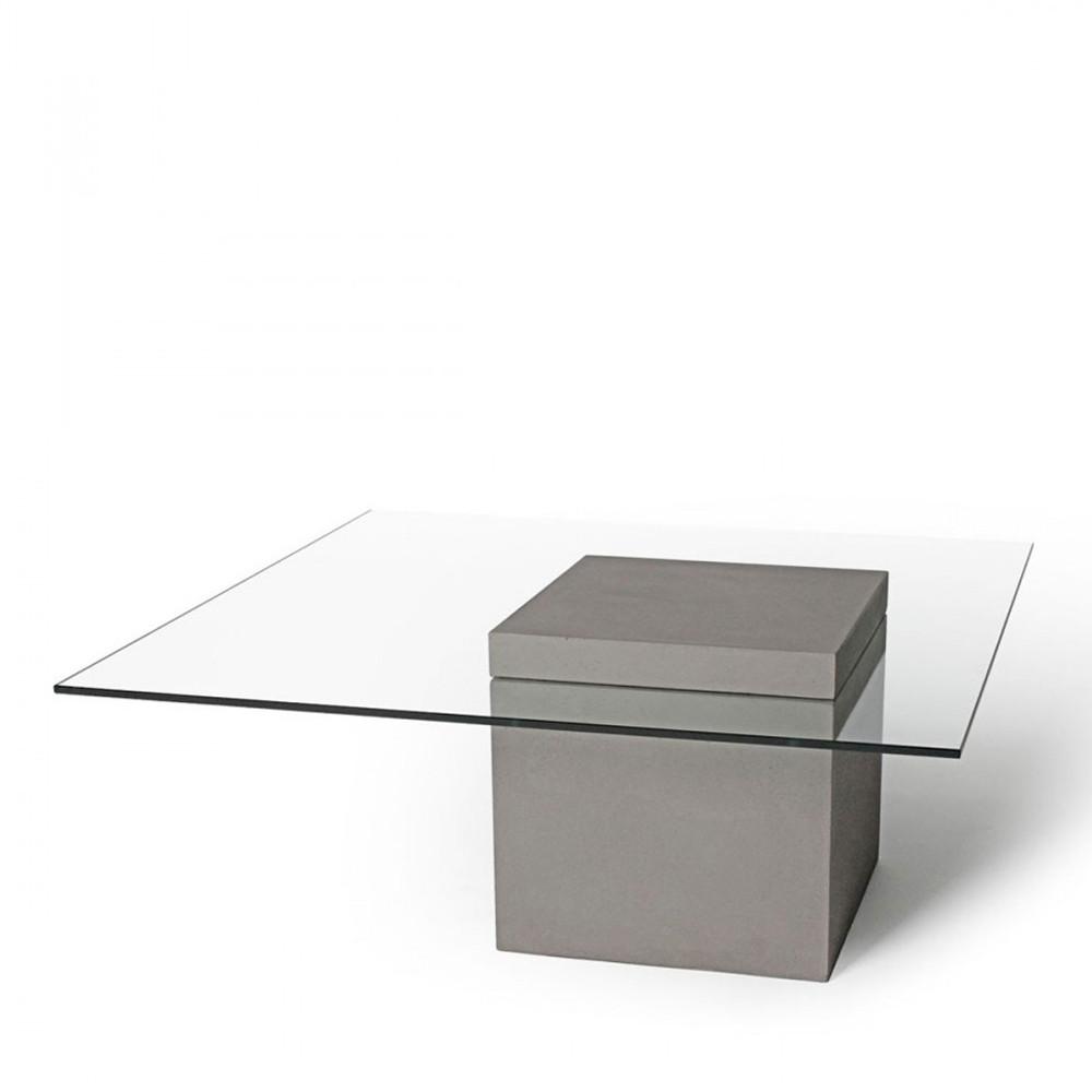 table basse carree beton verre lyon beton verveine