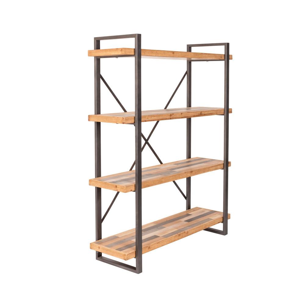 etagere design en metal et bois joy