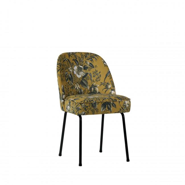 vogue 2 chaises design en velours