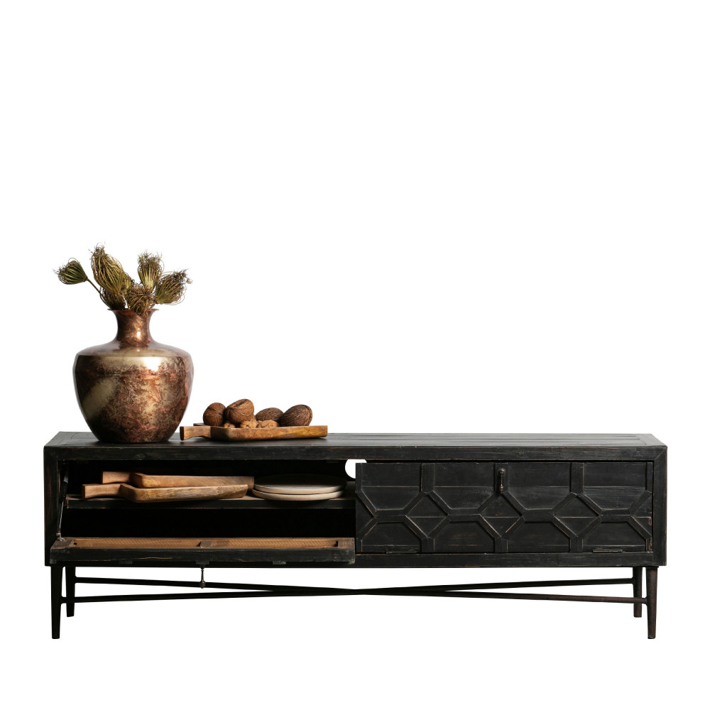 meuble tv en bois bepurehome bequest