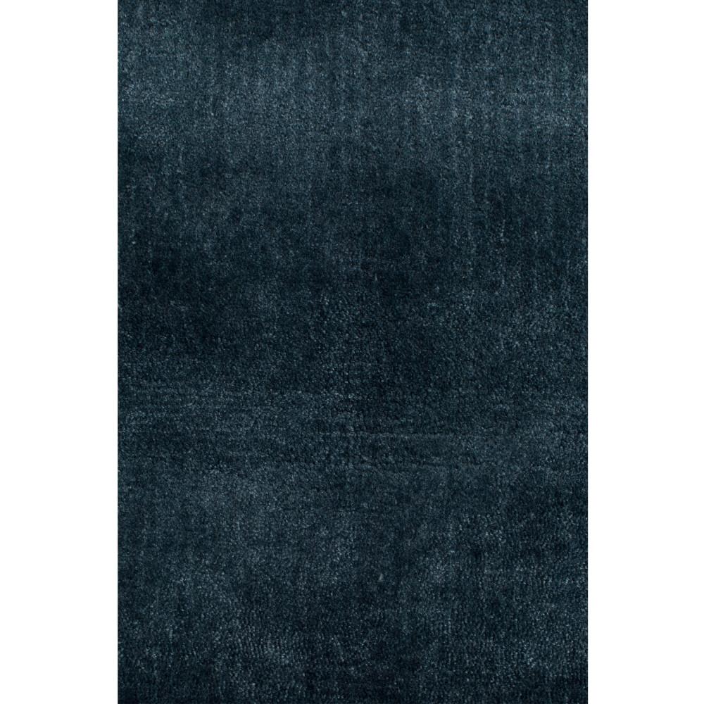 tapis a franges bleu petrole zuiver blink