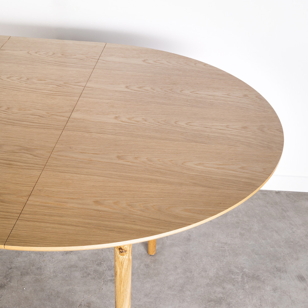 table a manger ronde extensible 120
