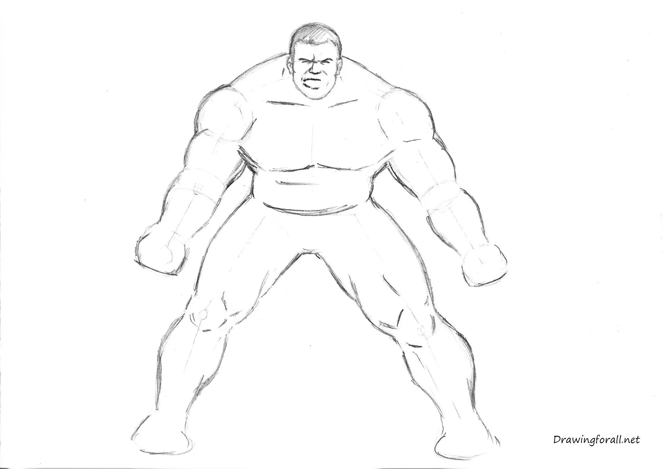 Hulk Drawings Sketches