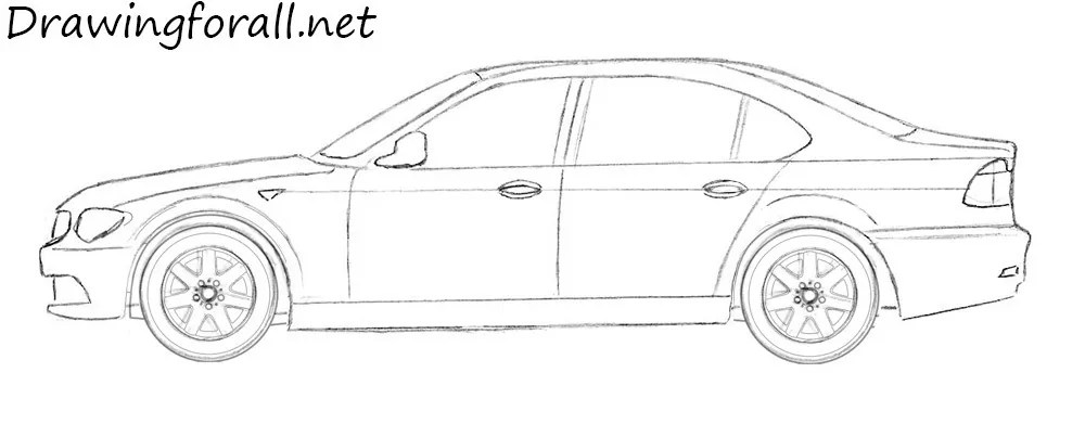 How to Draw a Car   Drawingforall.net
