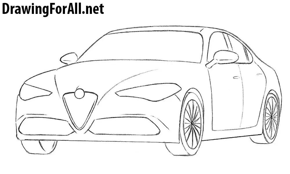 Alfa Romeo Drawings Free Download • Playapk.co