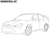 Subaru Coloring Pages