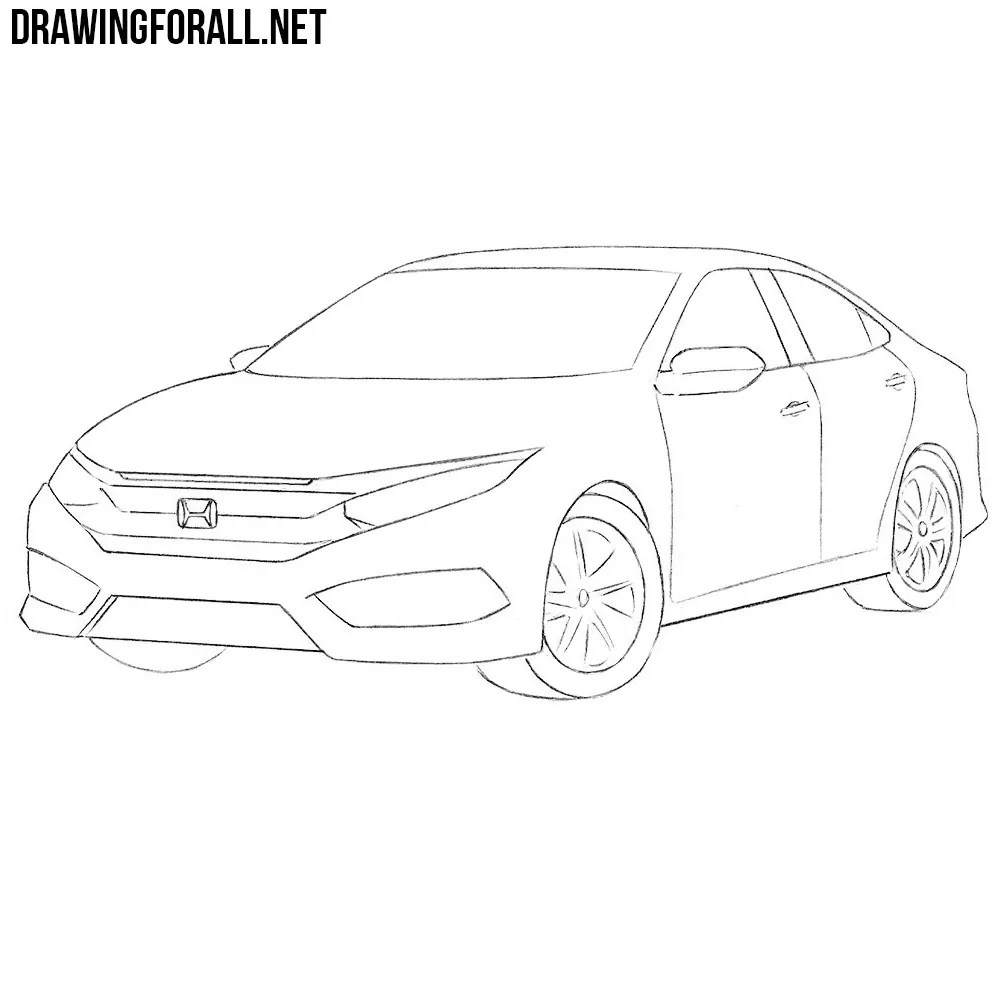 Honda Hatchback Drawings Free Download • Playapk.co