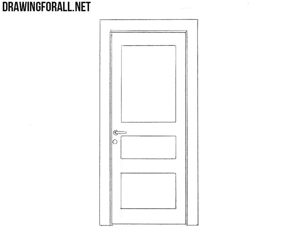 Diagram Of Cornice How To Draw A Door Drawingforall Net