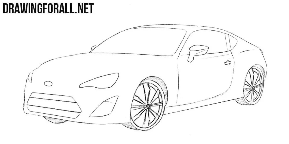 Subaru Brz Coloring Pages Coloring Pages