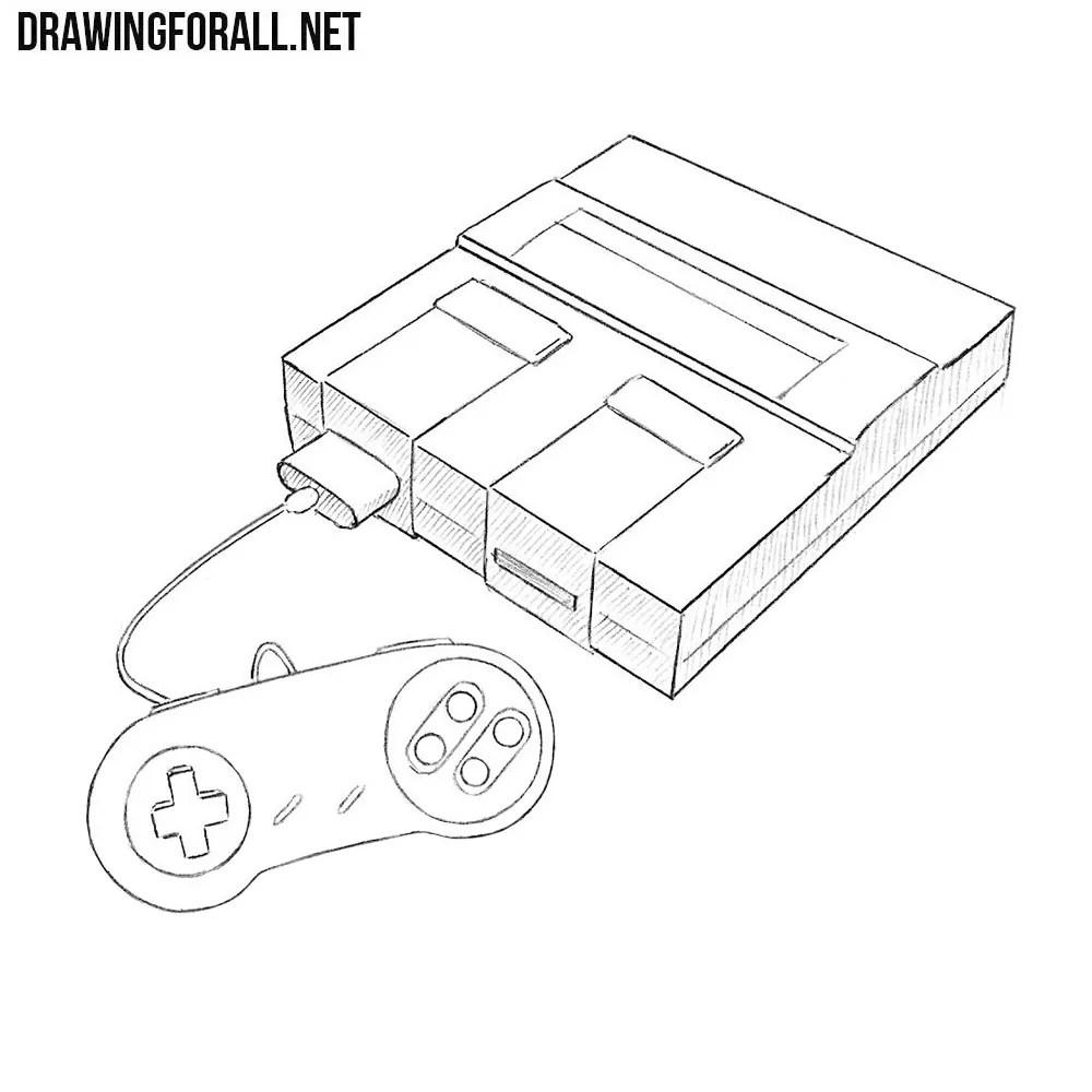 medium resolution of how to draw a super nintendo