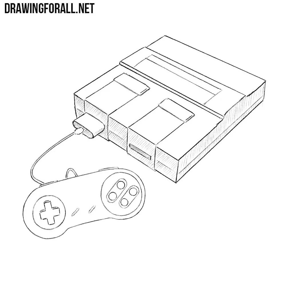 hight resolution of how to draw a super nintendo