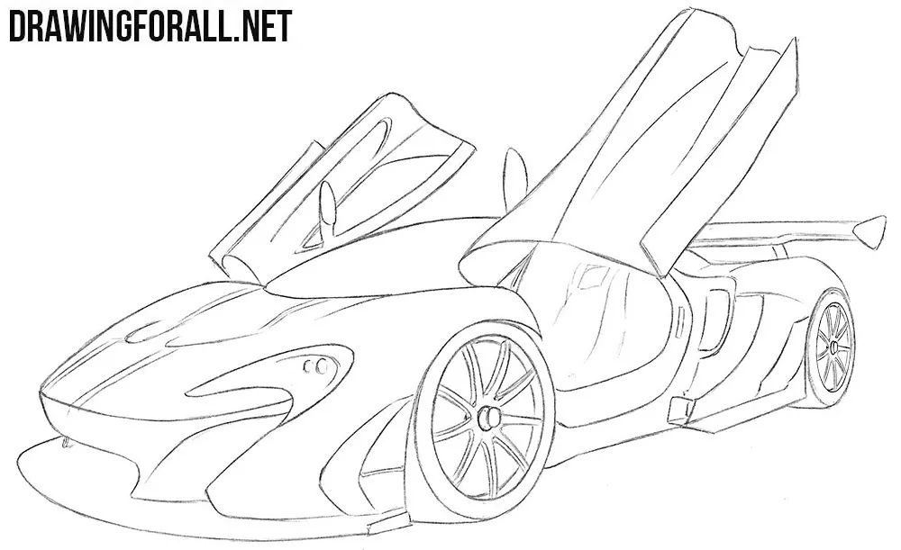 McLaren Engine Diagram