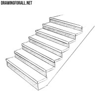 How to Draw Stairs | DrawingForAll.net
