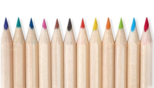 Drawing For Kids Wood Pencils