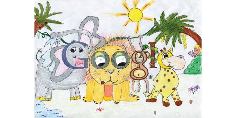 Doodle 4 Google Art Contest for Kids: Ireland Winner 2014