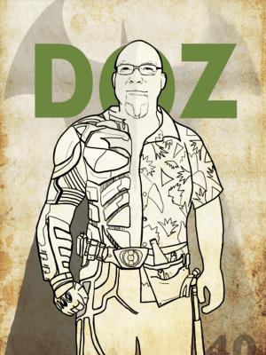 DOZ THE BUILDER (LOVES BATMAN) :: DIGITAL :: 2014