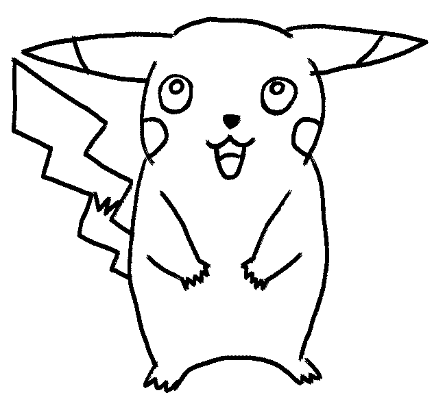 Easy Nice Things To Draw Pikachu Is Your Favourite Pokemon