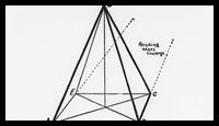 How to Draw Pyramids & Shade with Shading & Drawing