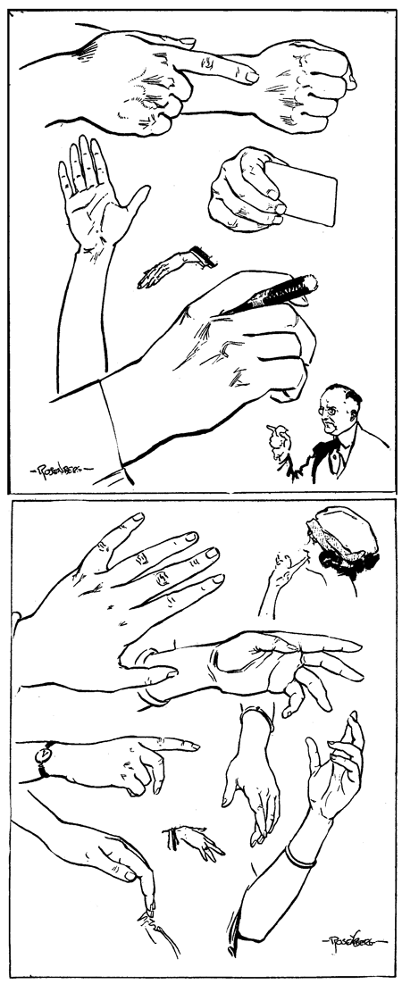 Drawing Hands and Feet with the Following Lessons & Tutorials