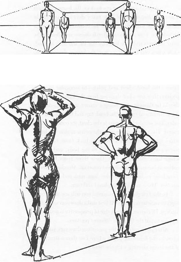 Drawing Figures & People in Perspective Drawing with One
