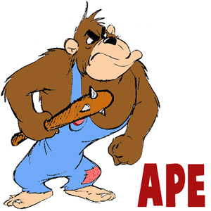 How to Draw Cartoon Monkeys Apes Gorillas and Chimps