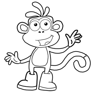 How to Draw Cartoon Monkeys, Apes, Gorillas, and Chimps