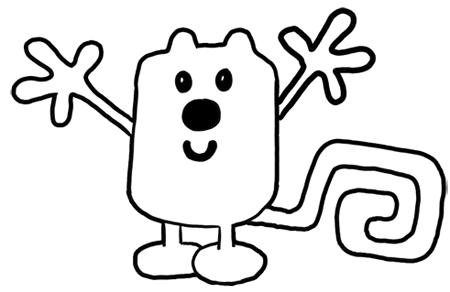 How to Draw Wubbzy from Wow Wow Wubbzy Step by Step
