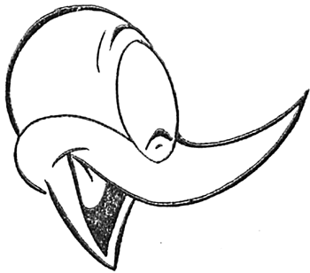 How to Draw Woody Woodpecker with Easy Step by Step