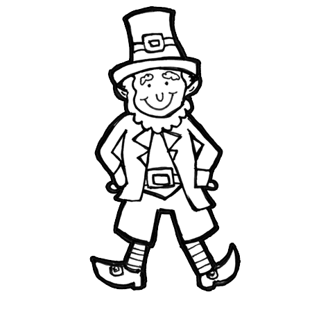 How to Draw Leprechauns with Easy Step by Step Drawing