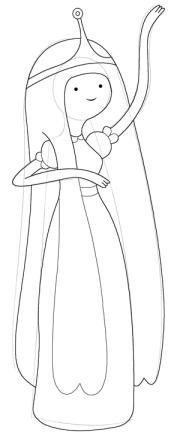 draw princess bubblegum
