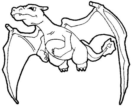 How to Draw Charizard from Pokemon with Step by Step