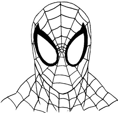 How to Draw Spiderman with Easy Step by Step Drawing
