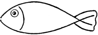 How to draw a chinese fish